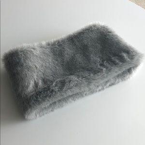 Club Monaco faux fur scarf